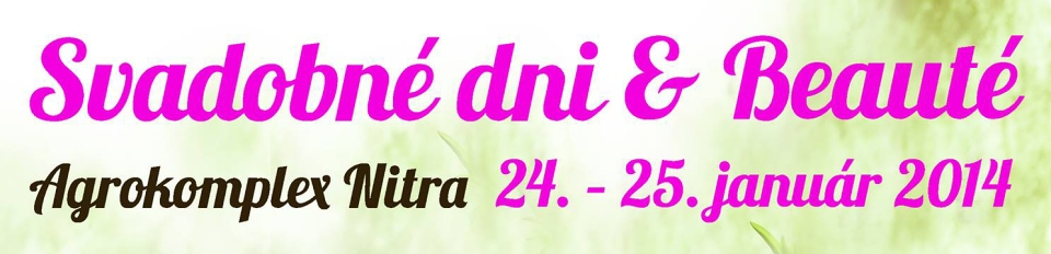 svadobná vystava Nitra 2014